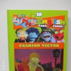 Libros de segunda mano: LIBRO-DVD: LOS LUNNIS: ENGLISH PARA TODOS, NUMERO 9. Lote 120102035