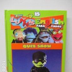 Libros de segunda mano: LIBRO-DVD: LOS LUNNIS: ENGLISH PARA TODOS, NUMERO 15. Lote 120102143