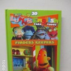 Libros de segunda mano: LIBRO-DVD: LOS LUNNIS: ENGLISH PARA TODOS, NUMERO 20. Lote 120102307