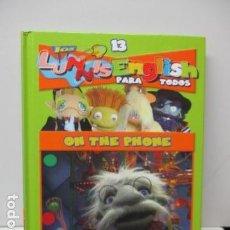 Libros de segunda mano: LIBRO-DVD: LOS LUNNIS: ENGLISH PARA TODOS, NUMERO 13. Lote 120102735