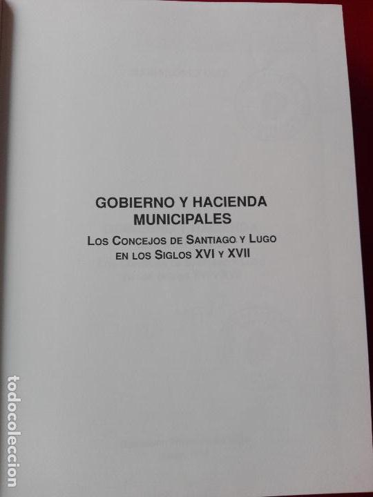 Libros de segunda mano: libro-gobierno y hacienda municipales-maría lópez díaz-1994-diputación provincial de lugo- - Foto 5 - 120148355