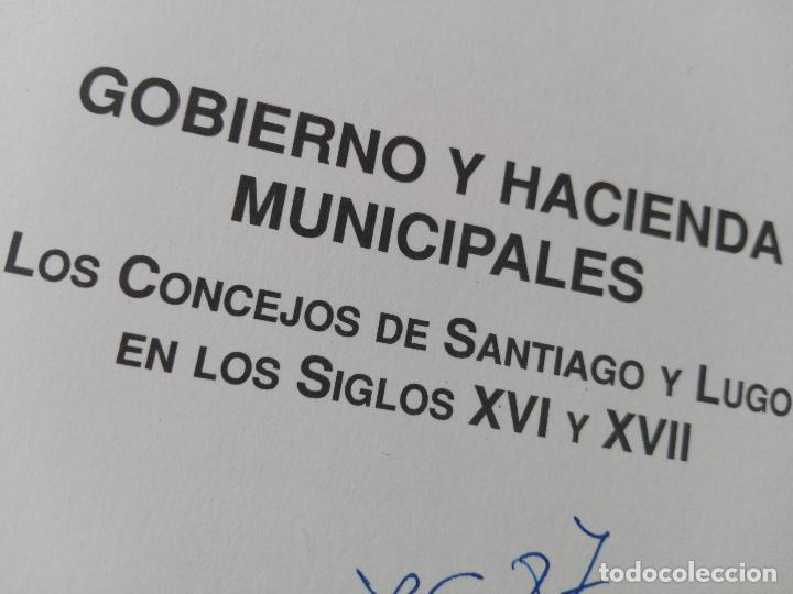 Libros de segunda mano: libro-gobierno y hacienda municipales-maría lópez díaz-1994-diputación provincial de lugo- - Foto 7 - 120148355
