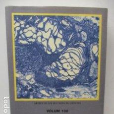Libros de segunda mano: TRENTA - DOS ASPECTES CIENCIA I TECNOLOGIA - VOLUM 100 (EN CATALAN) COMO NUEVO. Lote 120148747