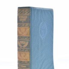 Libros de segunda mano: COMEDIAS ESCOGIDAS - SHAW, GEORGE BERNARD. Lote 120169695