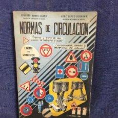 Libros de segunda mano: NORMAS DE CIRCULACIÓN , EDICIÓN 1961. Lote 122494248