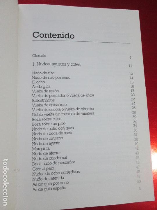 Libros de segunda mano: libro-los nudos más utilizados en náutica-colin jarman-tutor náutica-2ªedición-1993-buen estado - Foto 7 - 120214375