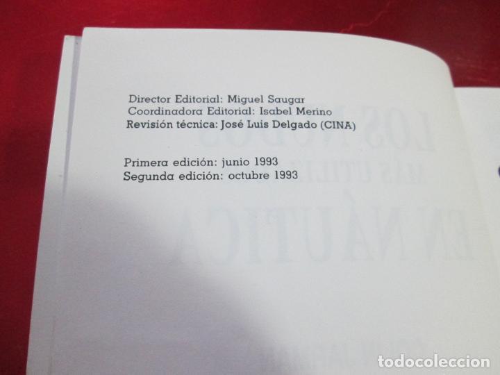Libros de segunda mano: libro-los nudos más utilizados en náutica-colin jarman-tutor náutica-2ªedición-1993-buen estado - Foto 9 - 120214375