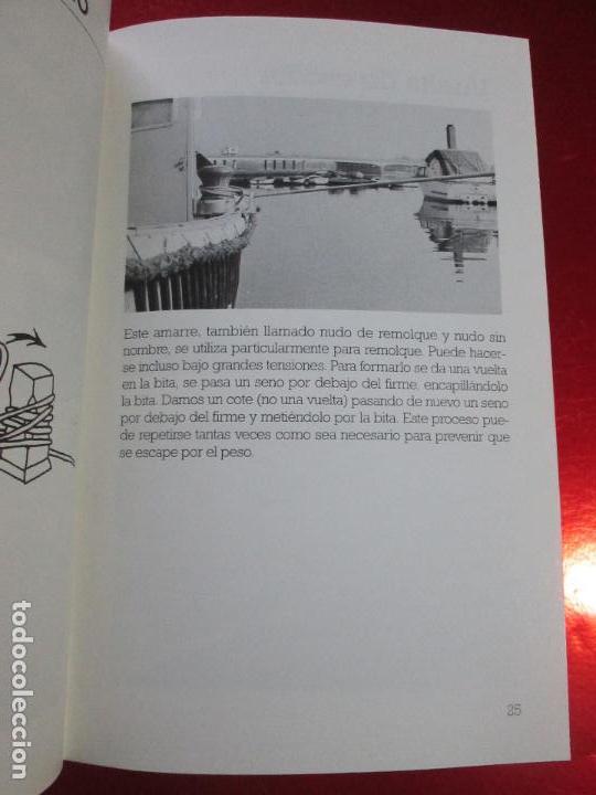 Libros de segunda mano: libro-los nudos más utilizados en náutica-colin jarman-tutor náutica-2ªedición-1993-buen estado - Foto 13 - 120214375