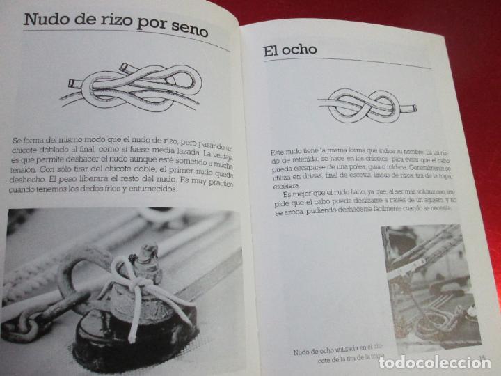 Libros de segunda mano: libro-los nudos más utilizados en náutica-colin jarman-tutor náutica-2ªedición-1993-buen estado - Foto 15 - 120214375
