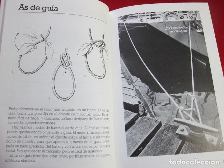 Libros de segunda mano: libro-los nudos más utilizados en náutica-colin jarman-tutor náutica-2ªedición-1993-buen estado - Foto 17 - 120214375