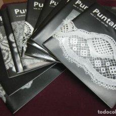 Libros de segunda mano: PUNTAIRES. 14 REVISTAS EDITADAS POR LA ASSOCIACIÓ DE PUNTAIRES DE LA GARRIGA. AÑO 2000.. Lote 120301811