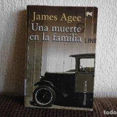 Libros de segunda mano: UNA MUERTE EN LA FAMILIA. JAMES AGEE. LIBRO. Lote 120302951