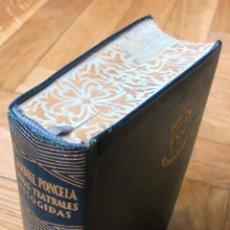 Libros de segunda mano: JARDIEL PONCELA,OBRAS TEATRALES ESCOGIDAS.1ª ED.1948.AGUILAR. Lote 120330787
