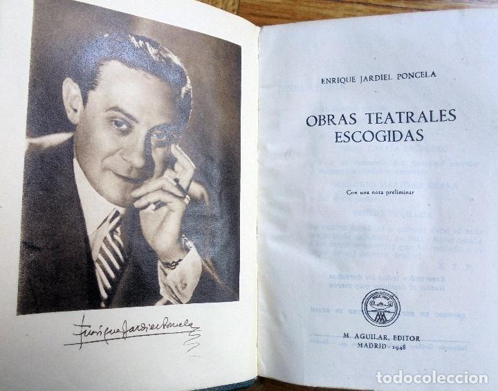 Libros de segunda mano: Jardiel Poncela,obras teatrales escogidas.1ª ed.1948.Aguilar - Foto 5 - 120330787