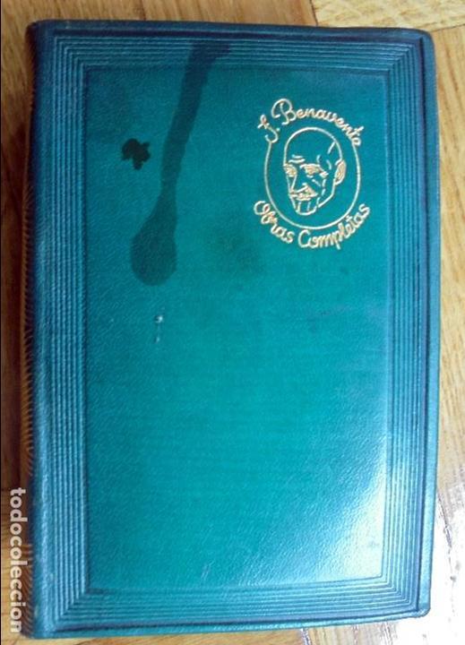 Libros de segunda mano: JACINTO BENAVENTE.OBRAS COMPLETAS.-TOMO V. AGUILAR. 1946 - Foto 4 - 120332403