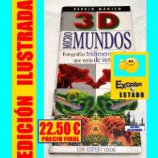 Libros de segunda mano: MICROMUNDOS MICRO MUNDOS 3D 3 - D ESPEJO MÁGICO VISOR FOTOGRAFÍAS TRIDIMENSIONALES THERESA GREENAWAY. Lote 120343819