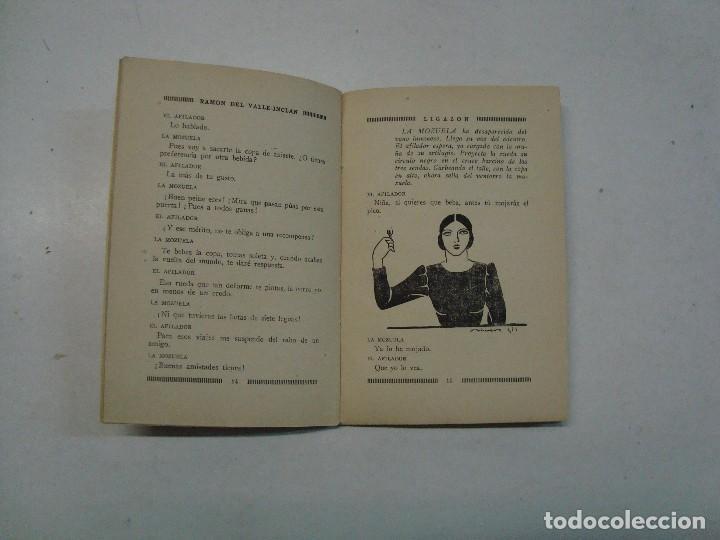 Libros de segunda mano: Lote Valle Inclán: 4 novelas ilustradas - Foto 5 - 120367959