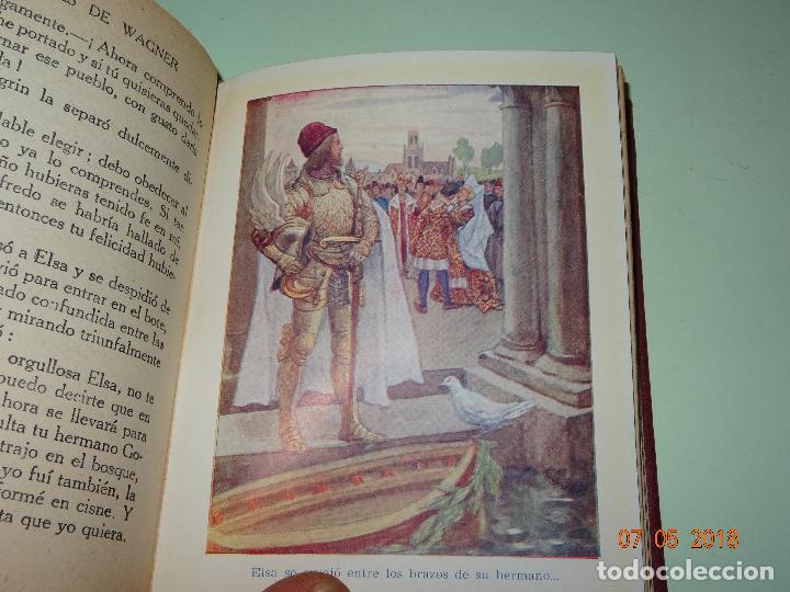 Libros de segunda mano: HISTORIAS DE WAGNER Explicadas a los Niños de Colección ARALUCE - Año 1962 - Foto 3 - 120389111