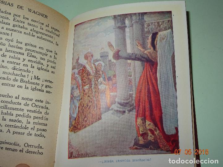 Libros de segunda mano: HISTORIAS DE WAGNER Explicadas a los Niños de Colección ARALUCE - Año 1962 - Foto 4 - 120389111