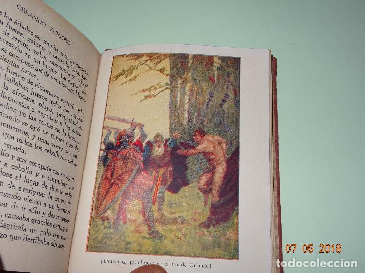 Libros de segunda mano: ORLANDO FURIOSO Relatado a los Niños - Colección ARALUCE - Año 1941 - Foto 3 - 120389859