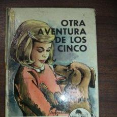 Libros de segunda mano: OTRA AVENTURA DE LOS CINCO. ENID BLYTON. EDITORIAL JUVENTUD, S. A. 1977.. Lote 120390551