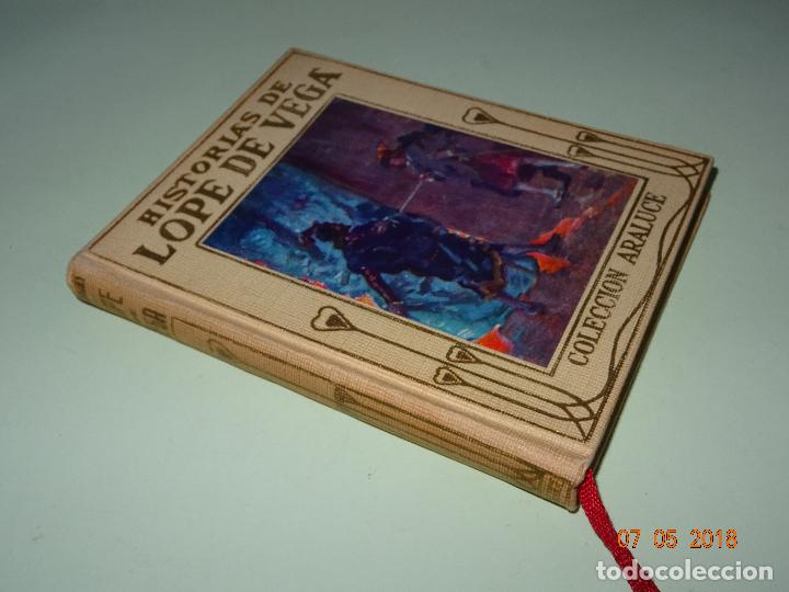 Libros de segunda mano: HISTORIAS DE LOPE DE VEGA Relatadas a los Niños- Colección ARALUCE - Año 1962 - Foto 5 - 120394987