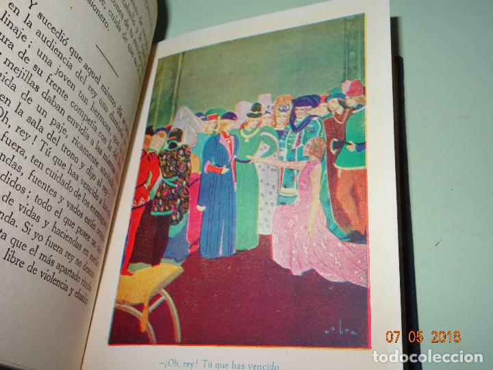 Libros de segunda mano: HISTORIAS DE TENNYSON Narradas a los Niños- Colección ARALUCE - Año 1960 - Foto 3 - 120395419