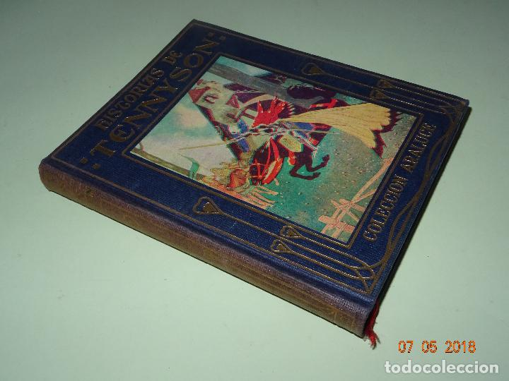 Libros de segunda mano: HISTORIAS DE TENNYSON Narradas a los Niños- Colección ARALUCE - Año 1960 - Foto 5 - 120395419