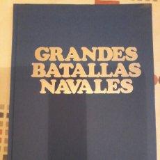Libros de segunda mano: GRANDES BATALLAS NAVALES. Lote 120439899