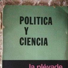 Libros de segunda mano: POLÍTICA Y CIENCIA - MAX WEBER. Lote 120442723