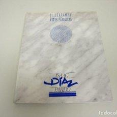 Libros de segunda mano: 519- II CERTAMEN DE ARTES PLASTICAS ISAAC DIAZ PARDO AÑO 1991. Lote 120491487