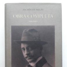 Libros de segunda mano: PACHIN DE MELAS. OBRA COMPLETA. VOLUME I - ED. LA TRABE. Lote 120581859