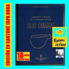 Libros de segunda mano: ETNOGRAFÍA Y ANALES DE LA CONQUISTA DE LAS ISLAS CANARIAS - SABINO BERTHELOT - GOYA 1978 - EXCELENTE. Lote 120585763