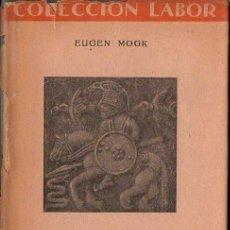 Libros de segunda mano: MOGK : MITOLOGÍA NÓRDICA (LABOR, 1953). Lote 120637180