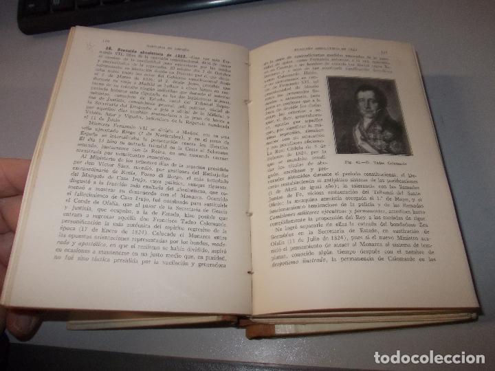 Libros de segunda mano: Historia de España, Edad Contemporánea, 1808-1923, Pío Zabala, Dos tomos. Suc. Juan Gili 1.930 - Foto 8 - 120678411