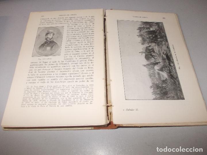 Libros de segunda mano: Historia de España, Edad Contemporánea, 1808-1923, Pío Zabala, Dos tomos. Suc. Juan Gili 1.930 - Foto 11 - 120678411