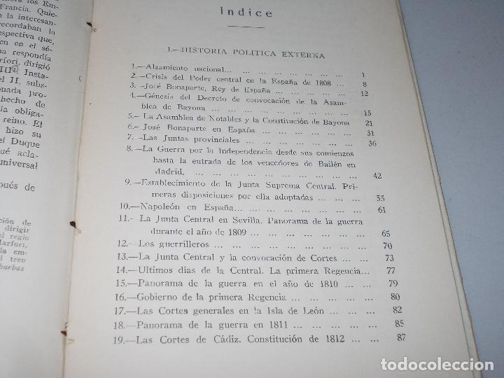 Libros de segunda mano: Historia de España, Edad Contemporánea, 1808-1923, Pío Zabala, Dos tomos. Suc. Juan Gili 1.930 - Foto 13 - 120678411
