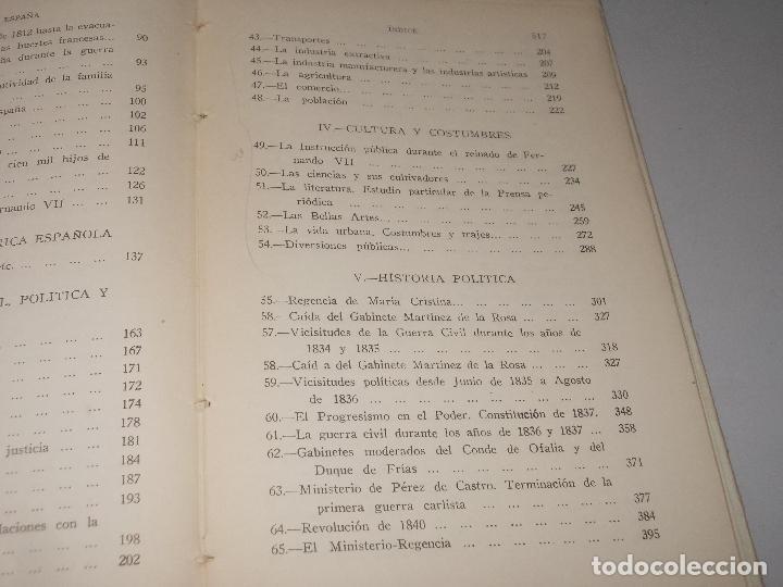 Libros de segunda mano: Historia de España, Edad Contemporánea, 1808-1923, Pío Zabala, Dos tomos. Suc. Juan Gili 1.930 - Foto 15 - 120678411