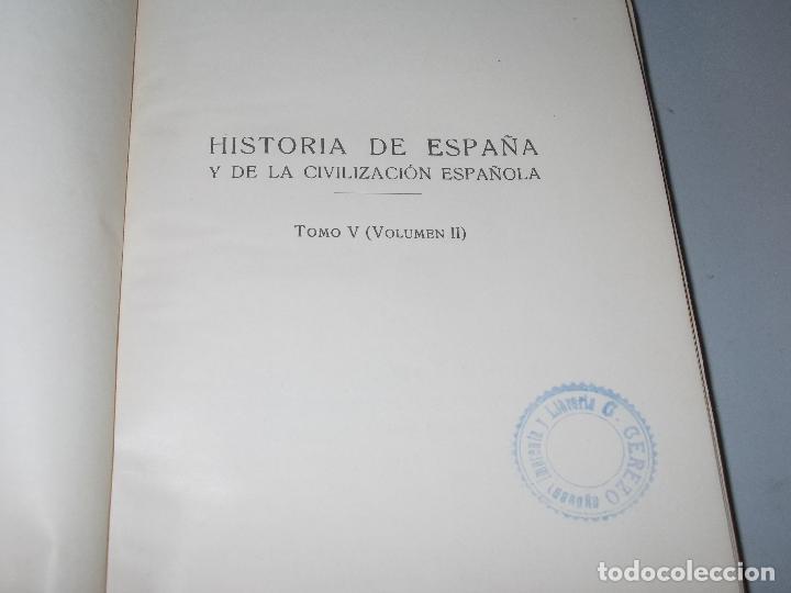 Libros de segunda mano: Historia de España, Edad Contemporánea, 1808-1923, Pío Zabala, Dos tomos. Suc. Juan Gili 1.930 - Foto 21 - 120678411