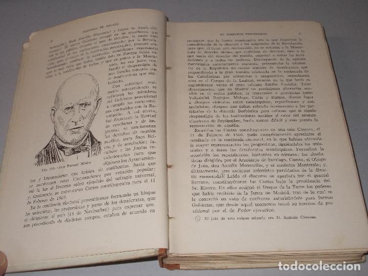 Libros de segunda mano: Historia de España, Edad Contemporánea, 1808-1923, Pío Zabala, Dos tomos. Suc. Juan Gili 1.930 - Foto 25 - 120678411