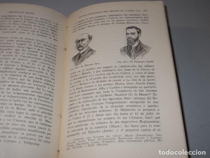 Libros de segunda mano: Historia de España, Edad Contemporánea, 1808-1923, Pío Zabala, Dos tomos. Suc. Juan Gili 1.930 - Foto 28 - 120678411