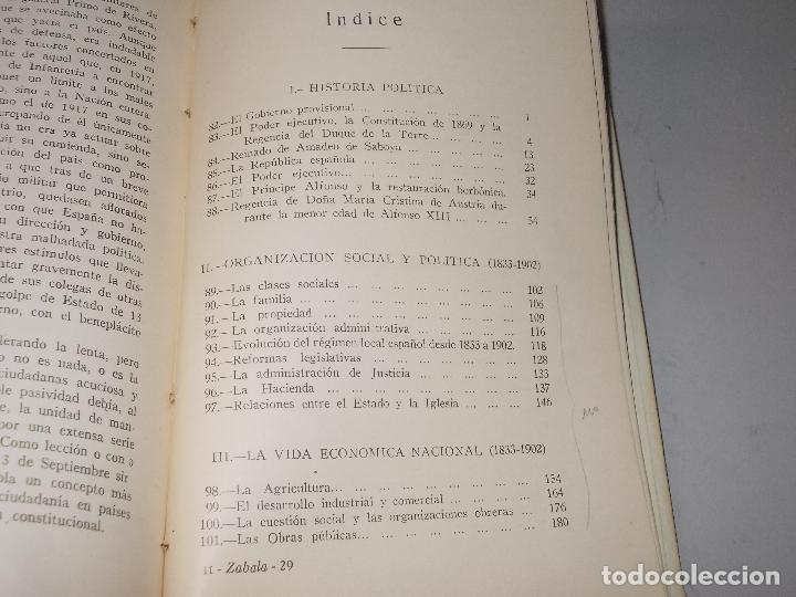 Libros de segunda mano: Historia de España, Edad Contemporánea, 1808-1923, Pío Zabala, Dos tomos. Suc. Juan Gili 1.930 - Foto 29 - 120678411