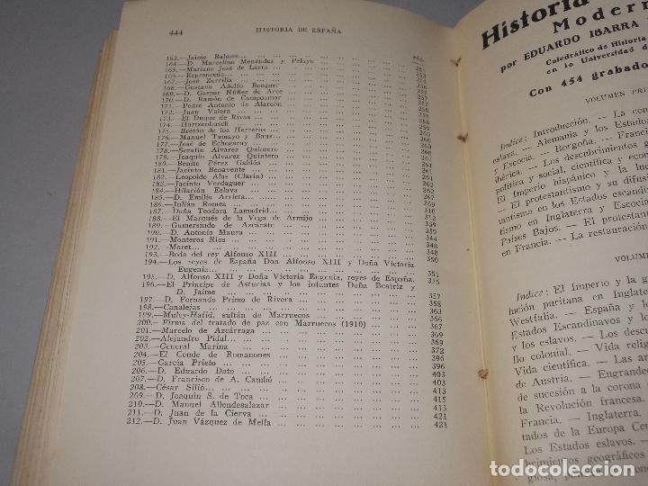 Libros de segunda mano: Historia de España, Edad Contemporánea, 1808-1923, Pío Zabala, Dos tomos. Suc. Juan Gili 1.930 - Foto 32 - 120678411
