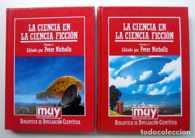 LA CIENCIA EN LA CIENCIA FICCIÓN. EDITADO POR PETER NICHOLLS. 2 TOMOS (Libros de Segunda Mano - Ciencias, Manuales y Oficios - Otros)