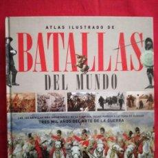 Libros de segunda mano: ATLAS ILUSTRADO DE BATALLAS DEL MUNDO. SUSAETA.. Lote 120725519