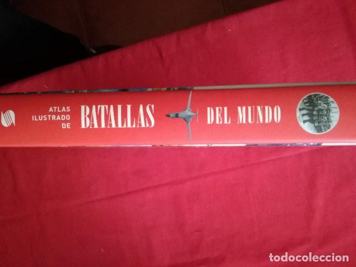Libros de segunda mano: ATLAS ILUSTRADO DE BATALLAS DEL MUNDO. SUSAETA. - Foto 3 - 120725519