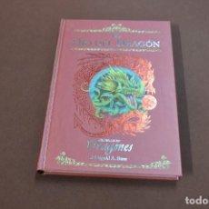 Libros de segunda mano: EL OJO DEL DRAGÓN , CRÓNICAS DE DRAGONES VOL. 1 - DUGALD STEER - 1ª EDICIÓN 2007 - JUB. Lote 120752183