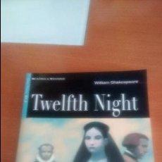 Libros de segunda mano: TWELFTH NIGHT DE WILLIAM SHAKERPEARE (READING & TRAINING). Lote 120791935