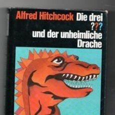 Libros de segunda mano: DIE DREI??? UND DER UNHEIMLICHE DRACHE, ALFRED HITCHCOCK. Lote 120870580