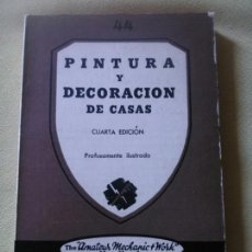 Libros de segunda mano - PINTURA Y DECORACIÓN DE CASAS -EDITORIAL PAN AMÉRICA ARGENTINA - 121168759
